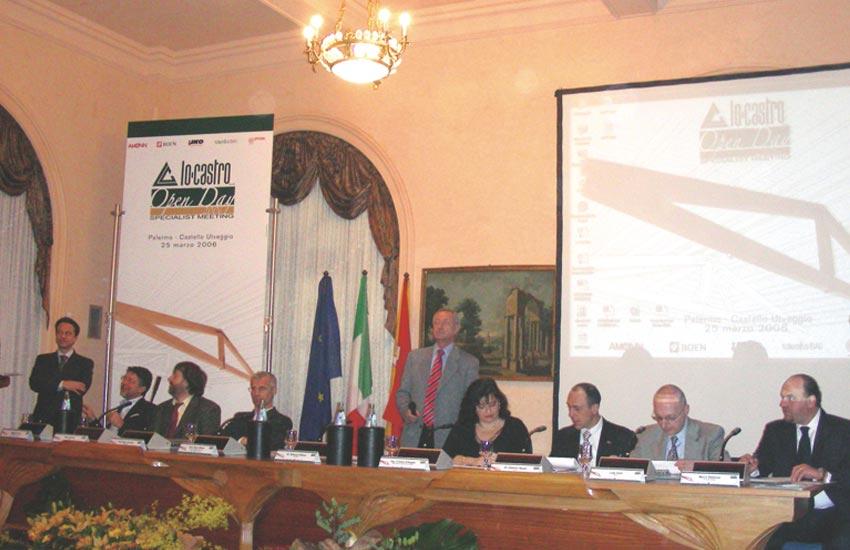 Organizzazione e gestione evento specialistico Lo Castro Open Day organizzato per azienda settore legnami e costruzioni Palermo Italia Sicilia