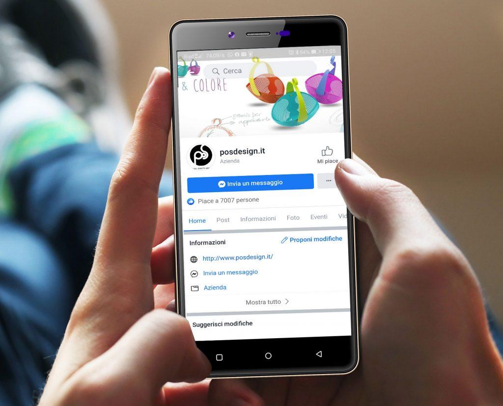 gestione social media pagina facebook posdesign sicilia
