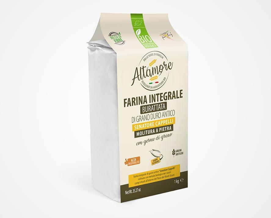 progettazione grafica packaging farina altamore palermo sicilia italia